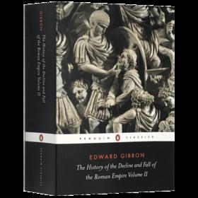 罗马帝国衰亡史2 英文原版 The History of the Decline and Fall of the Roman Empire 人物传记历史书籍 正版进口原版英语书