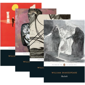 莎士比亚四大悲剧 英文原版 Four Great Tragedies 4册套装 哈姆雷特 奥赛罗 李尔王 麦克白 Shakespeare 英文版经典名著 进口书籍