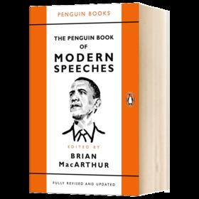 企鹅现代演讲合集 英文原版 The Penguin Book of Modern Speeches 英文版原版书籍 进口英语书