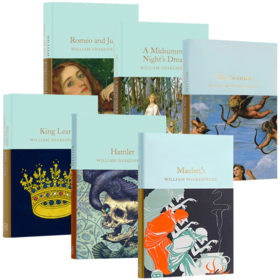 Shakespeare 英文原版 莎士比亚作品集6册套装 Collectors Library系列 罗密欧与朱丽叶 哈姆雷特 李尔王 麦克白 原版经典文学名著