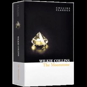 华研原版 月光宝石 英文原版书 The Moonstone 月光石 英文版 经典小说 柯林斯经典文学 Wilkie Collins 进口英语书籍