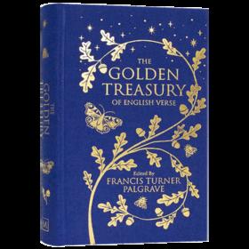 黄金财富 经典英国诗歌 英文原版 Collectors Library系列 The Golden Treasury of English Verse 英诗金典 英文版进口原版英语书