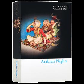 华研原版 一千零一夜 英文原版 Arabian Nights 英文版进口英语文学书 William Collins