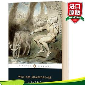 华研原版 皆大欢喜 英文原版文学书 As You Like It 莎士比亚戏剧集 Shakespeare 经典喜剧 Penguin classics 企鹅经典 进口英语书