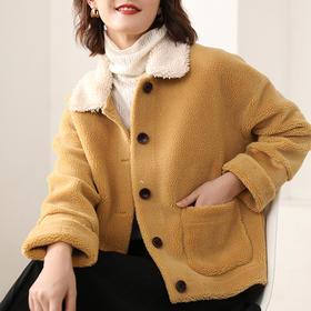 纤束马·颗粒绒大衣│明星都爱穿,优雅如皮草,温暖似羊毛