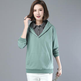 CQ-LYSX2042新款休闲时尚卫衣绒衫TZF