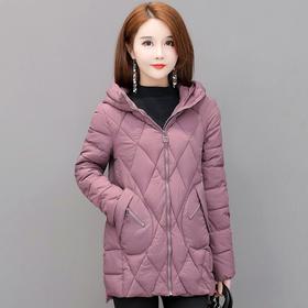 韩版修身连帽,气质时尚保暖棉服YW-KED96A022