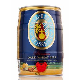 【京东】德拉克(Durlacher)黑啤酒 5L*1桶 桶装 德国原装进口   泡沫丰富细腻 爽口回甘  麦芽酿造【乳酒冲饮】