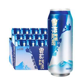 【京东】雪花啤酒(Snowbeer) 勇闯天涯 500ml*12听 整箱装【乳酒冲饮】