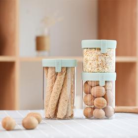 FaSoLa玻璃瓶蜂蜜瓶奶粉罐食品储存杂粮盒茶叶储物罐子带盖密封罐