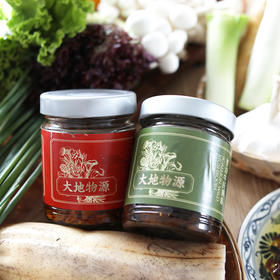 大地物源·葱油牛肝菌酱 | 葱香浓郁,酱汁鲜香油润,下厨必备