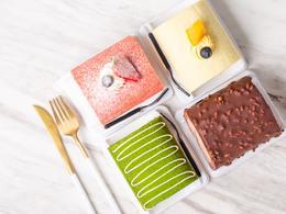 缤纷蛋糕卷(动物奶油)·整卷装 长约10cm