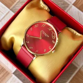 COACH 蔻驰十二生肖鼠年限定款时尚腕表手表  情人节礼物本命年礼物