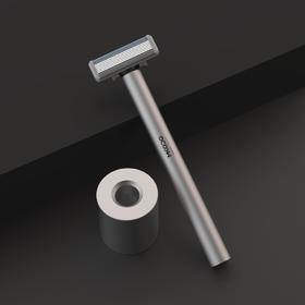 麦科多T1震感剃须刀手自一体双模式 双刀头男士家用旅行便携式充电式水洗电动刮胡刀