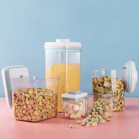 安扣密封罐 茶叶/咖啡/杂粮储物罐,自由拆洗滴水不漏