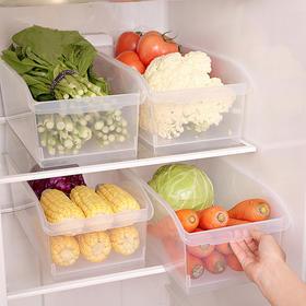 FaSoLa大容量收纳盒 冰箱/台面/橱柜透明储物盒,收纳筐