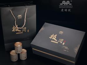 庆聘号2019年新品极简系列茶叶普洱茶青毛茶小罐茶