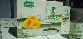 林砀优果精品黄桃罐头礼盒425g*12罐