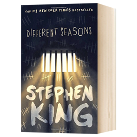 四季奇谭 英文原版 Different Seasons 肖申克的救赎 电影原著小说 斯蒂芬金 Stephen King 英文版原版书籍 进口英语书