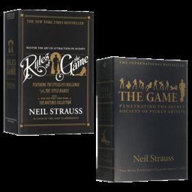 华研原版 把妹达人圣经 英文原版书 Rules of the Game 恋爱指南2本套装 那些坏小子教我的事 全英文版 Neil Strauss 进口英语书籍