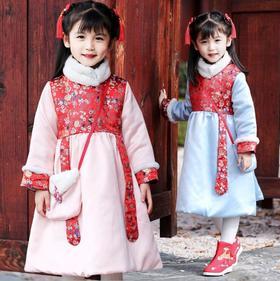 STF-19642女童冬装旗袍