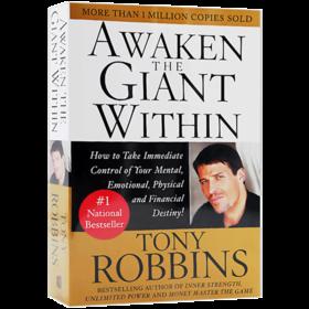 华研原版 唤醒心中的巨人 英文原版 Awaken the Giant Within 青少年励志读物 安东尼罗宾Anthony Robbins 英文版小说 进口英语书