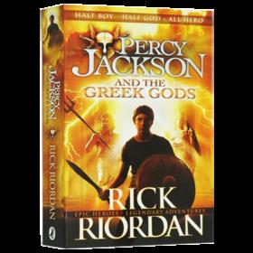波西杰克逊与希腊诸神 英文原版小说 Percy Jackson and the Greek Gods 希腊神话 少年版荷马史诗 奥巴马推荐 进口青少年奇幻文学