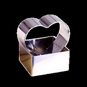 百钻慕斯圈 提拉米苏芝士蛋糕圈 爱心型方形圆形烘焙模具