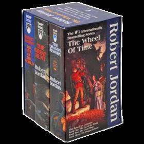 时间之轮1-3册盒装 英文原版小说 The Wheel of Time Boxed 1-3 英文文学书 英文版进口原版英语书籍