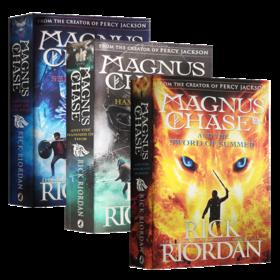 马格纳斯与仙宫之神 英文原版科幻小说 Magnus Chase 马格纳斯与北欧神话 夏日之剑 雷神之锤 死亡之舟 波西杰克逊 英文版进口书