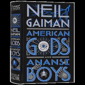 华研原版 美国众神 蜘蛛男孩 英文原版小说 American Gods Anansi Boys 进口原版英语书 Neil Gaiman 尼尔盖曼 全英文版