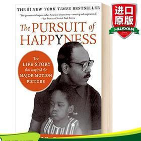 当幸福来敲门 英文原版小说 The Pursuit of Happyness 克里斯加德纳 Chris Gardner 英文版青春励志 进口英语书正版