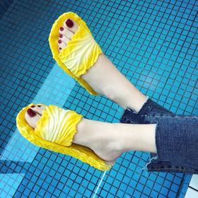 【寒冰紫雨】 工厂直供 浴室居家情侣款pvc防滑鞋子 时尚夏季凉鞋  AAA7833