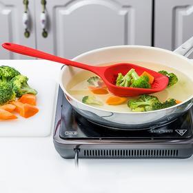 Kochblume 硅胶漏勺 隔热防烫,捞面条隔汤渣还能炸薯条