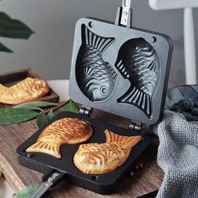 百钻鲷鱼烧华夫饼模具 双面不沾 制作成品造型精致