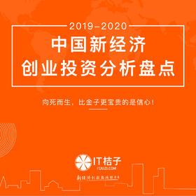 2019-2020年中国新经济创业投资分析盘点