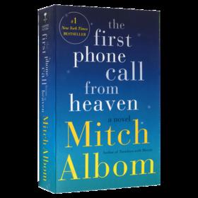 来自天堂的一通电话 英文原版书 First Phone Call from Heaven 米奇阿尔博姆 相约星期二作者 英文版寓言小说 进口原版英语书籍