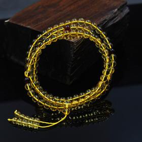 天然波罗的海金珀108粒佛珠手串