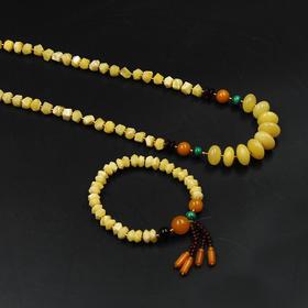 天然波罗的海蜜蜡套链  中式风格