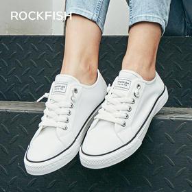【英国Rockfish2020春季爆款不怕湿帆布鞋】Rockfish休闲百搭不怕湿的帆布鞋懒人款