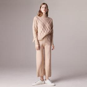 米瑟兰针织直筒裤│专属亚洲女性的温柔,不挑身材,约会、上班这一件就够