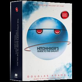 银河系搭车客指南五部曲合集 英文原版科幻小说 The Hitchhiker's Guide to the Galaxy Omnibus 道格拉斯亚当斯 进口原版英语书籍