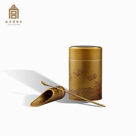 故宫博物院 福海铜茶具三件套