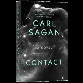 卡尔萨根 接触 英文原版 科幻小说 Contact A Novel 英文版原版书籍 正版进口英语书 Carl Sagan