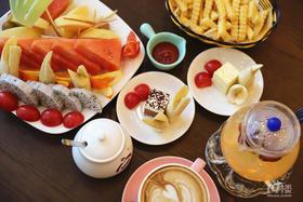 【春节可用】两岸咖啡精致下午茶 超值特惠仅售78元 咖啡、养颜茶、小食、慕斯蛋糕、水果拼盘 春节假期下午茶就来这儿喝~