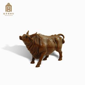 故宫博物院 旺家牛铜摆件