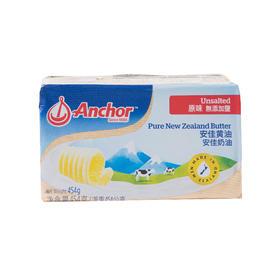 安佳黄油454g 原装新西兰进口 动物性黄油 色泽蛋黄 奶香浓郁
