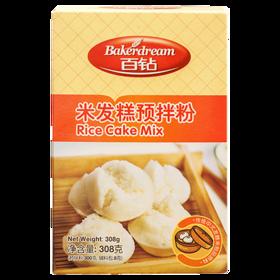 安琪百钻米发糕预拌粉308g*20盒 整箱批发 家用做大米发糕粉 传统风味