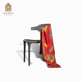 故宫博物院 荷意年年丝巾