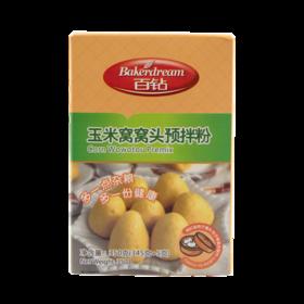 安琪百钻玉米荞麦窝窝头预拌粉350g 玉米面杂粮面粉 简单快手 香软可口